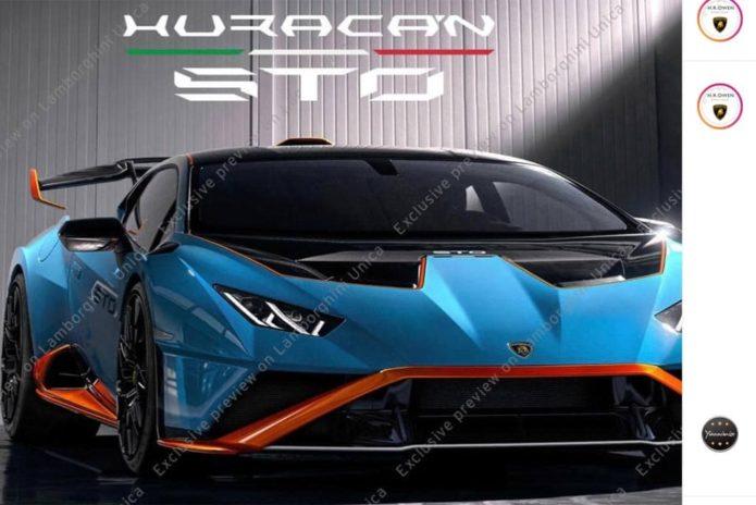 Lamborghini Huracan STO leaked