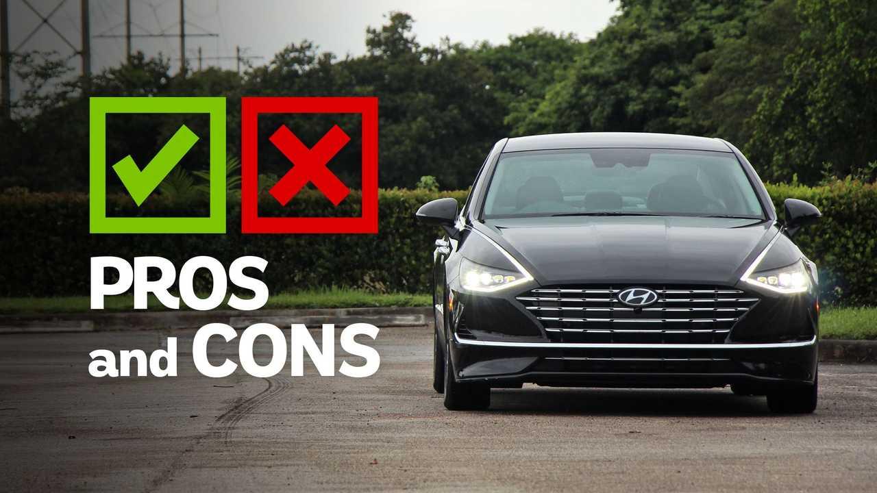 2020 Hyundai Sonata Hybrid Limited: Pros And Cons