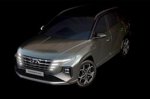 Hyundai Tucson N Line and i30 Sedan N teased