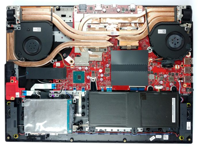 Inside ASUS ROG Strix SCAR 17 G732 – disassembly and upgrade options