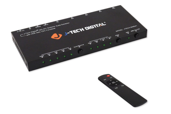 J-Tech Digital 4x1 HDMI switcher review: An HDMI switch so nice, we reviewed it twice