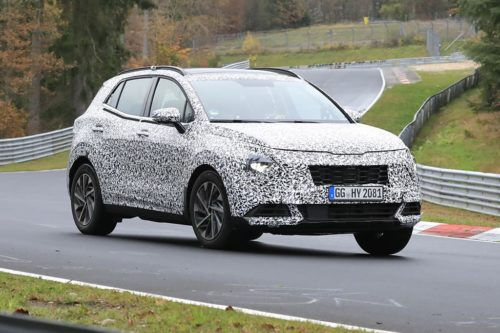 SPY PICS: New Kia Sportage here next year