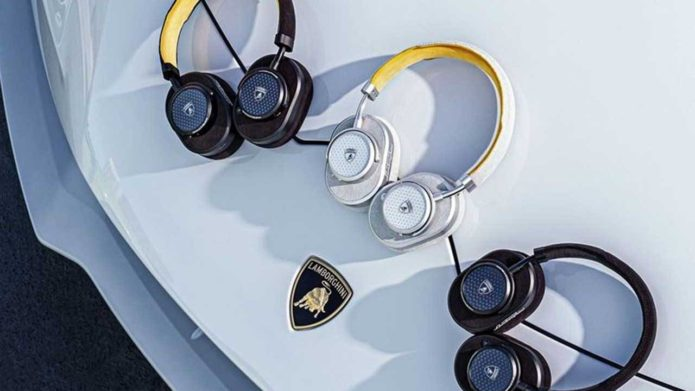 Lamborghini and Master & Dynamic team for new audio gear