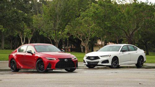 2021 Lexus IS Vs Acura TLX Comparison: Enticing Alternatives