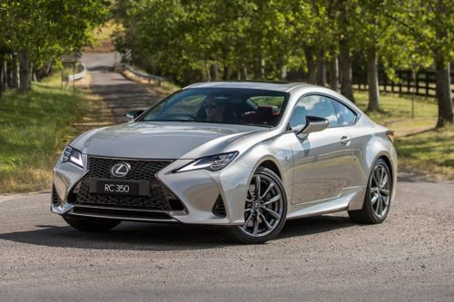 Lexus RC coupe moves up a notch