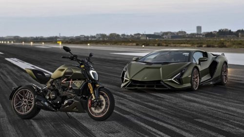 2021 Ducati Diavel 1260 Lamborghini First Look