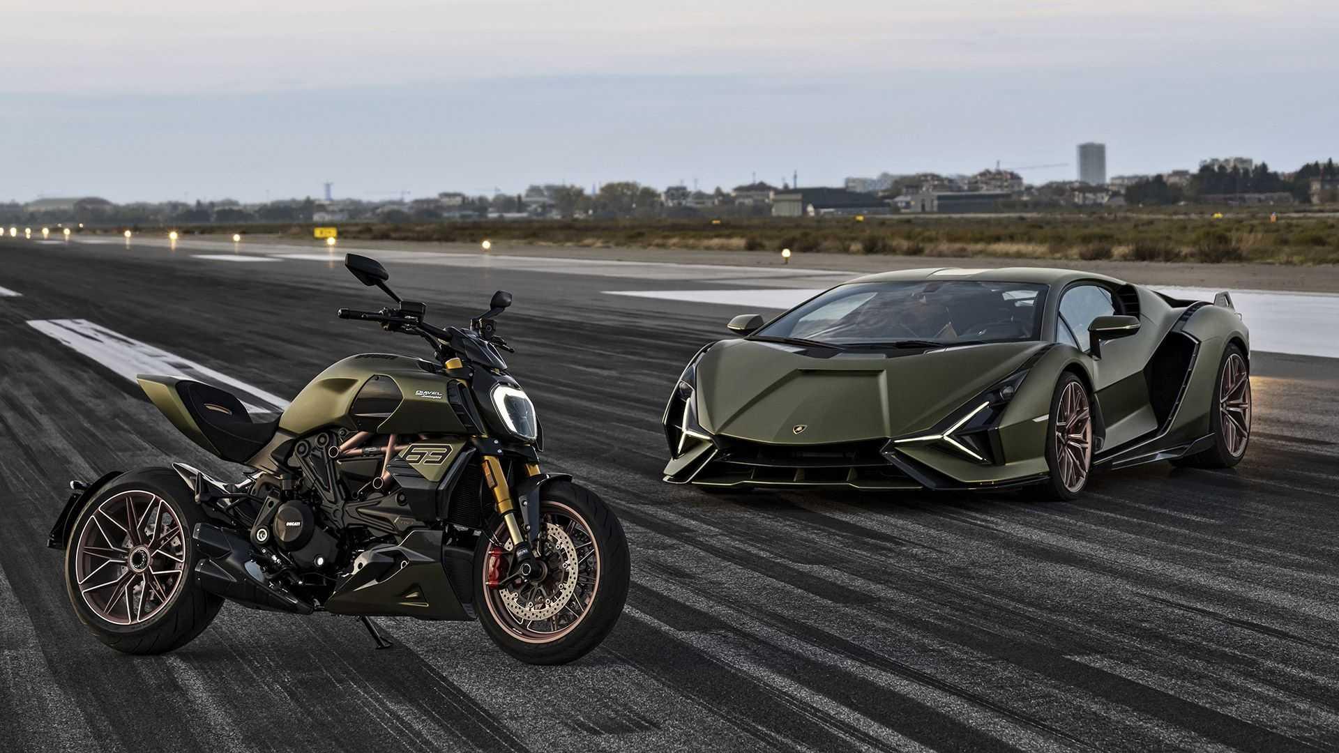 2021 Ducati Diavel 1260 Lamborghini First Look
