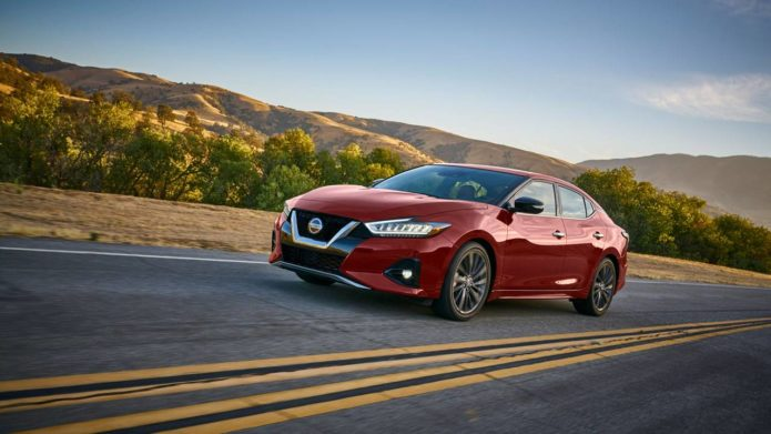 2021 Nissan Maxima offers a Limited-edition 40th Anniversary Edition package