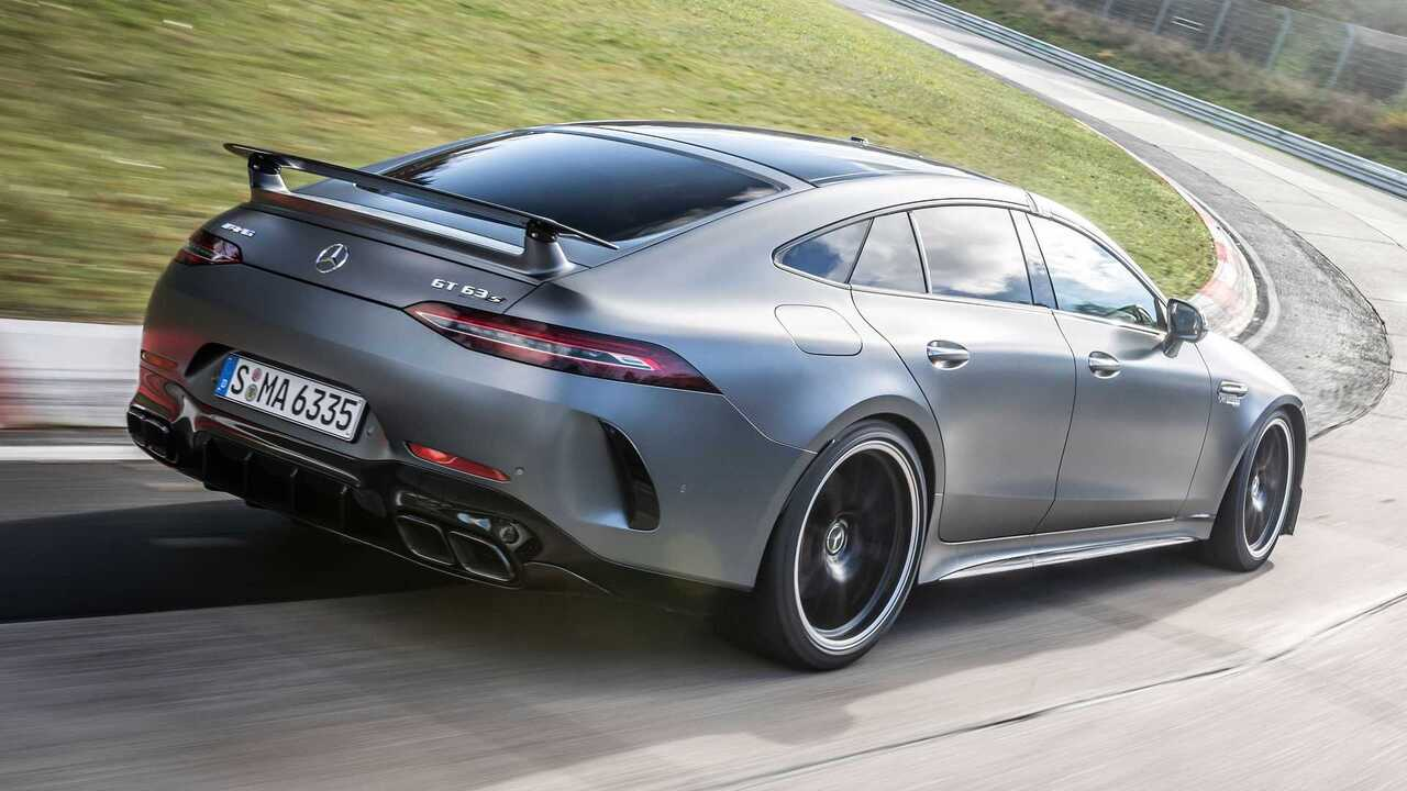 The 2021 Mercedes-AMG GT 63 S has set a new Nürburgring lap record