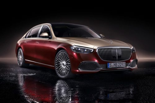 Mercedes-Maybach S-Class revealed