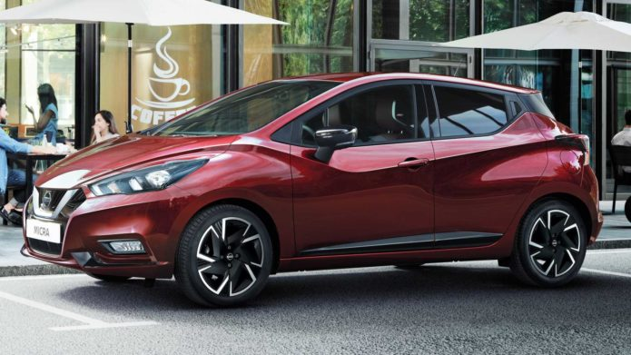 Nissan Micra Gets A Modest Facelift In Europe