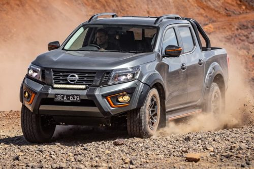 New Nissan Navara Warrior to retain tough truck character