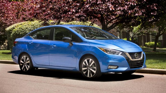 2021 Nissan Versa is available at dealerships nationwide