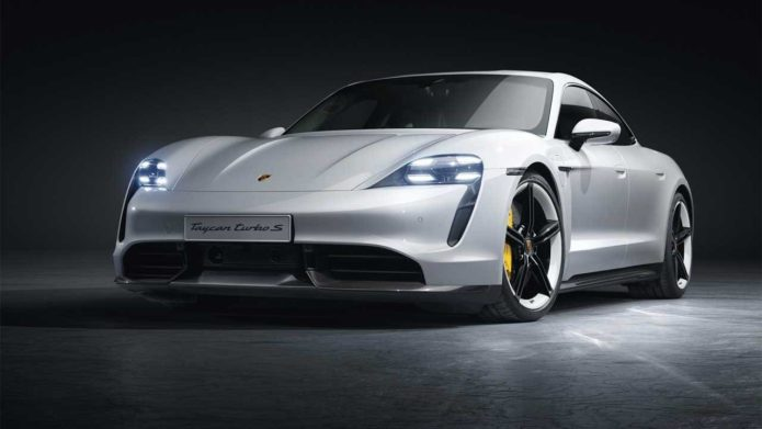 The Porsche Taycan is so popular in the US that it helped Porsche recover