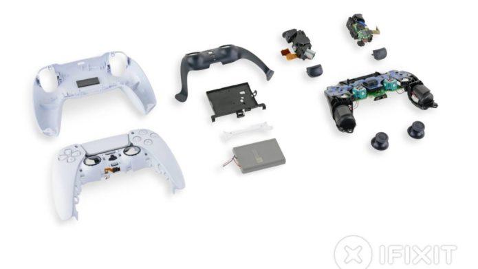 PS5 DualSense Controller iFixit teardown sends mixed messages