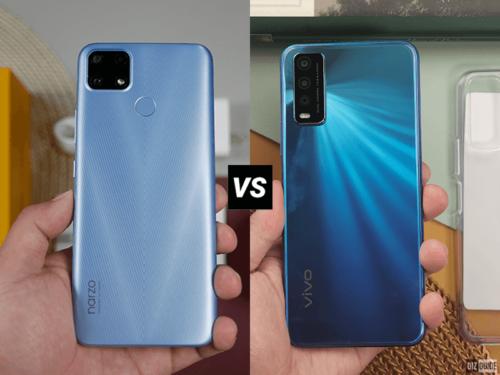realme narzo 20 vs vivo Y20i: Budget smartphones under PHP 8,000