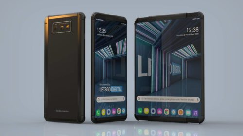 LG Project B rollable phone could have a retractable display