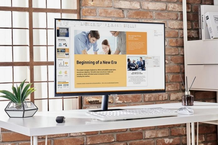 Samsung's M5 Series Smart Monitor Comes With Built-in Office 365, Remote PC Access, And Entertainment Apps, So You Can Use It As A Standalone PC