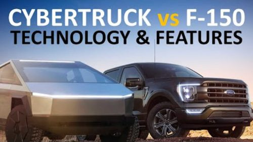2021 Tesla Cybertruck vs. 2021 Ford F-150