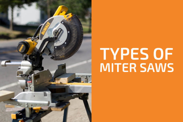 5 Different Types of Miter Saws (Sliding, Compound & More)