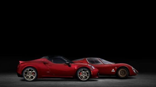 2021 Alfa Romeo 4C Spider 33 Stradale Tributo pays homage to Alfa's racing DNA