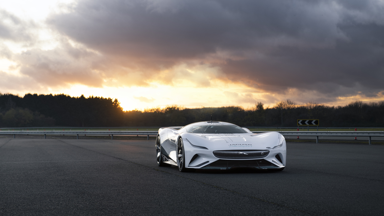 The Jaguar Vision Gran Turismo SV offers more power and twice the excitement