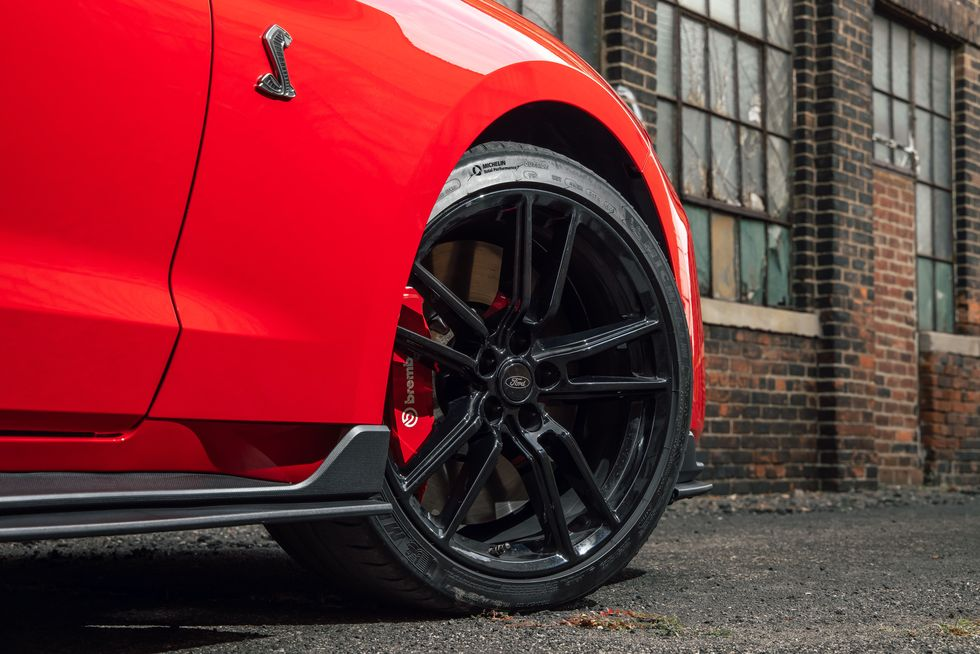 Mustang Shelby GT500 Is Quicker without Track Tires. Here's Why