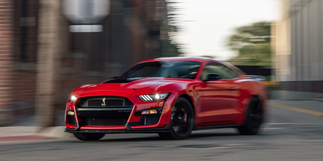 Tested: Mustang GT500 Hauls Even on Street Tires