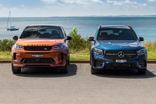 Land Rover Discovery Sport R-Dynamic SE P250 v Mercedes-Benz GLB 250 4MATIC Comparison