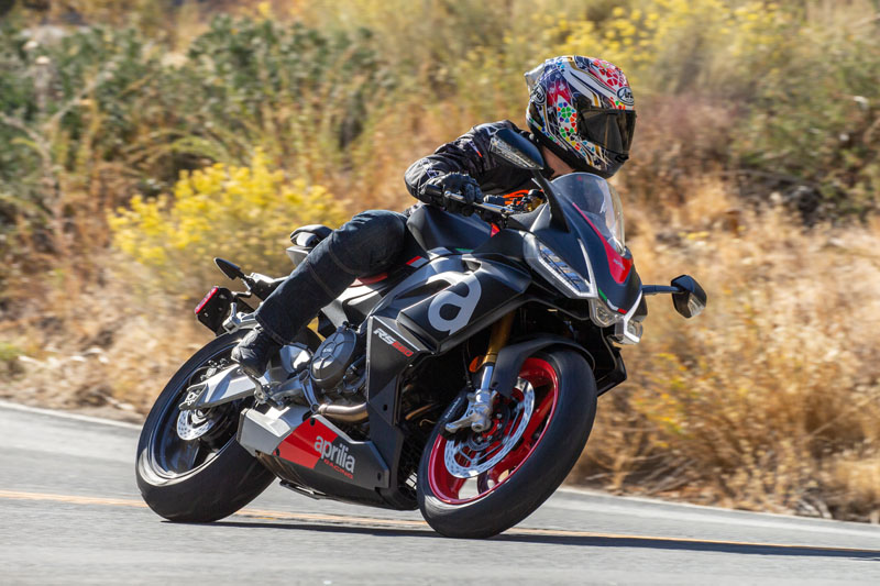2021 Aprilia RS660 Track Review