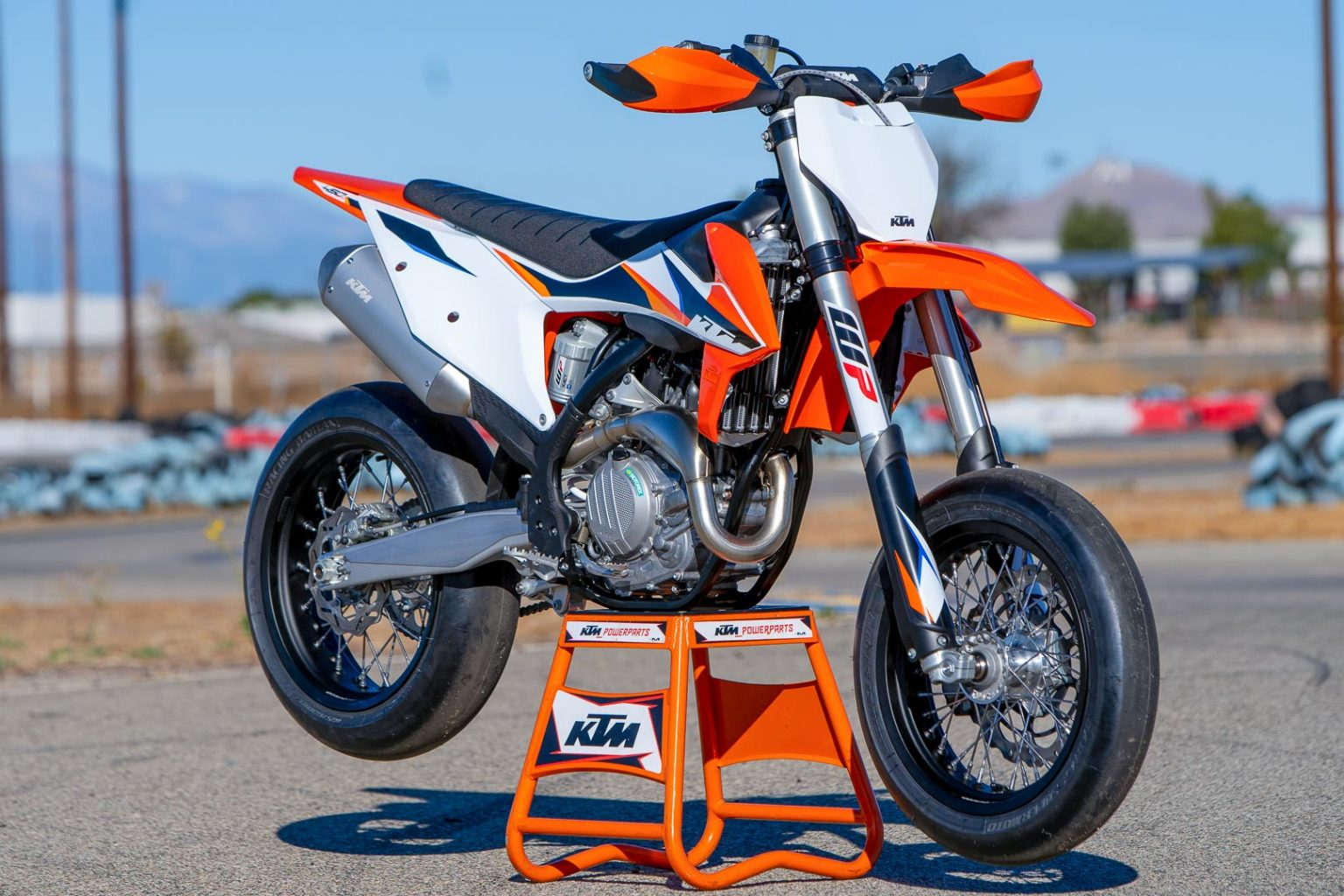 2021 KTM 450 SMR Review (13 Fast Facts and Supermoto Observations)