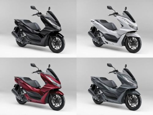2021 Honda PCX Lineup Announced for Japan Including New PCX 160