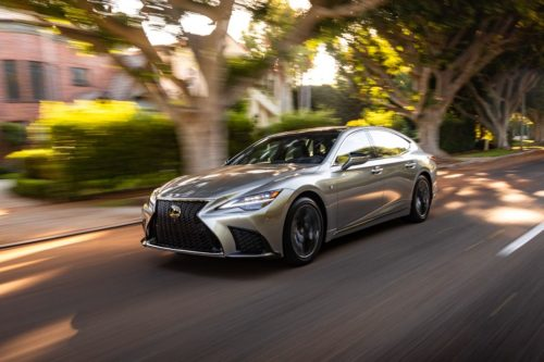 2021 Lexus LS500's Edgy Styling Belies Its Soft Side