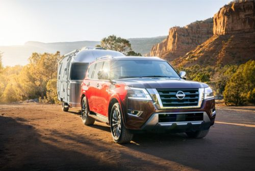 2021 Nissan Armada Gets a Modern Makeover