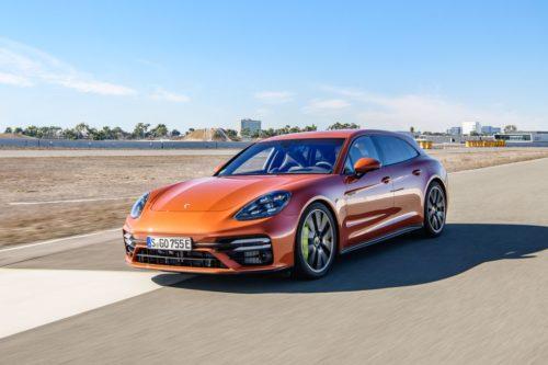 2021 Porsche Panamera Turbo S E-Hybrid Sport Turismo: Turbo Juiced to 690 Horspower