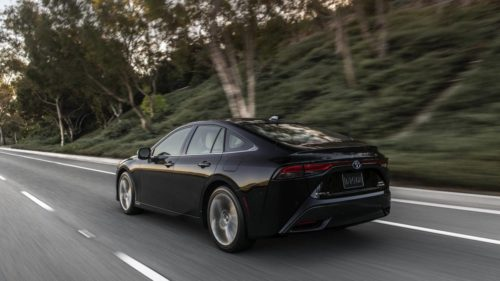 2021 Toyota Mirai is $9000 cheaper than the outgoing model