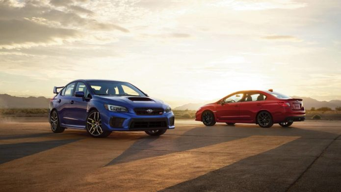 2021 Subaru WRX starts at $37,245, WRX STI has a $37,245 base price