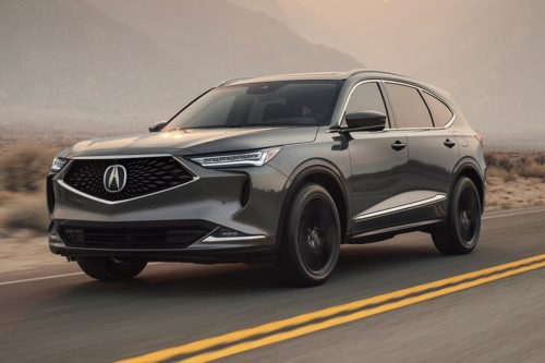 New Acura MDX revealed