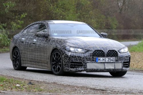 2022 BMW 4-Series Gran Coupe Shows Its Face