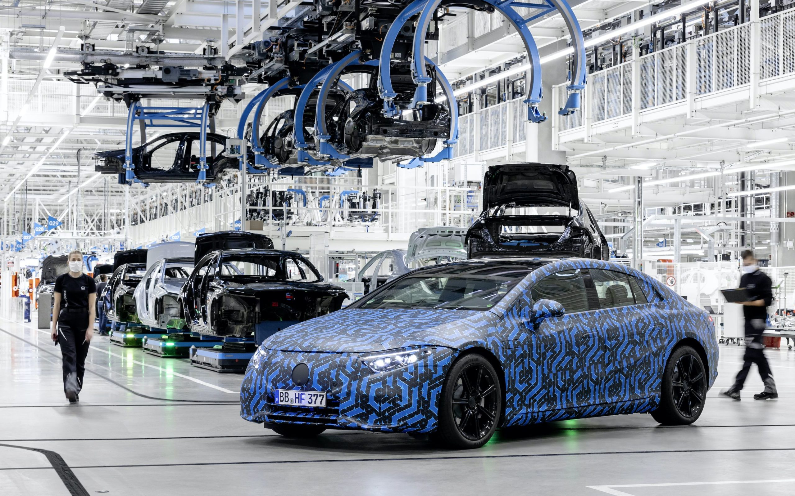 Mercedes-Benz's Electric Car Onslaught Is About to Kick Into High Gear