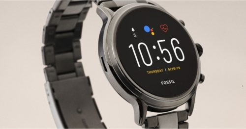 Wear OS Fall Update finally rolling out to Fossil smartwatches