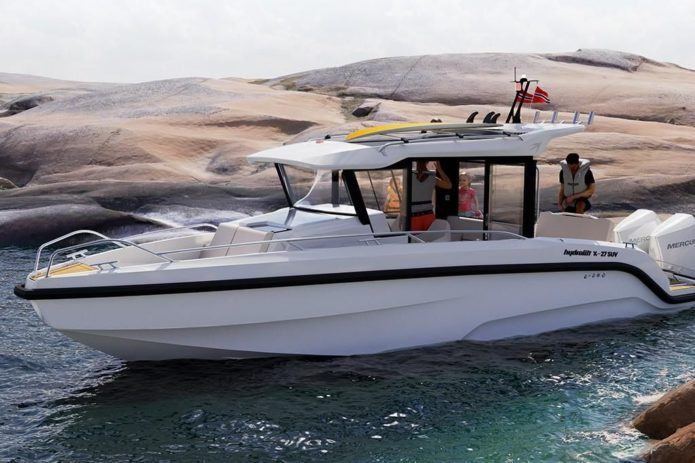 Hydrolift X-27 SUV test drive: The world's most unlikely performance boat
