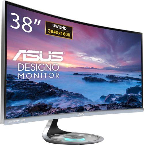 Asus Designo Curve MX38VC review