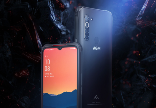 AGM X5 launched as world's first 5G phone with ruggedized body