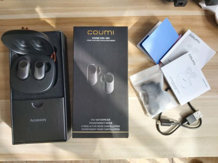 COUMI ANC-860 Review – TWS Earbuds with Noise Cancelling
