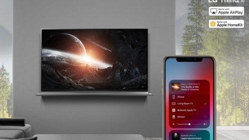 LG 2018 smart TVs finally get promised AirPlay 2, HomeKit