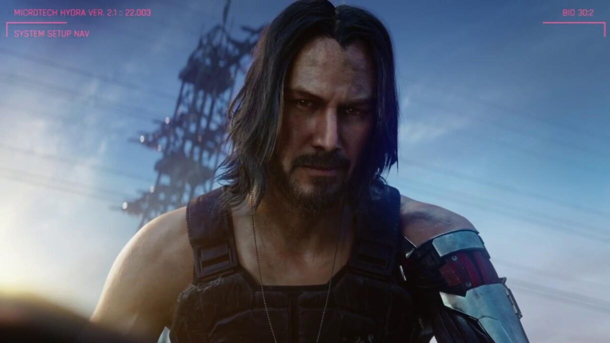 Can you play as Keanu Reeves in Cyberpunk 2077?