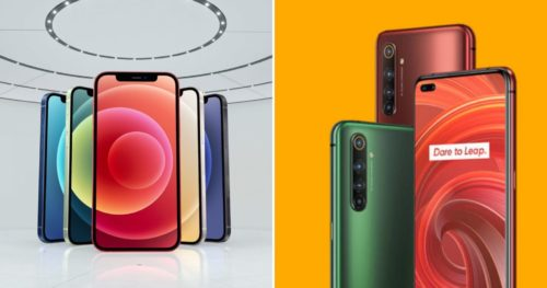Realme X50 Pro 5G vs iPhone 12/12 Pro Postpaid Comparison