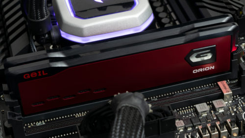 GeIL Orion AMD Edition DDR4-3600 C18 2x8GB Review