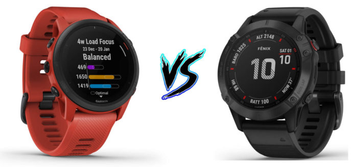 Garmin Forerunner 745 vs Fenix 6 Pro – Product Comparison